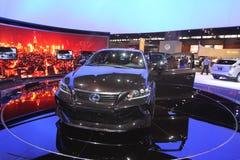 Lexus fünf Mittellinienprojekt CT Lizenzfreies Stockbild