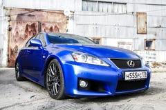 Lexus IS F Stock Photos