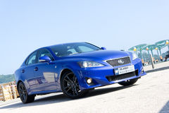 Lexus IS 250 F-Sport Royalty Free Stock Photos