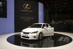 Lexus Full Hybrid CT 200h Royalty Free Stock Photo