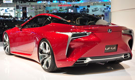 Lexus Future-Luxury Coupe Royalty Free Stock Image