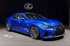 Lexus at the 2014 Geneva Motorshow. The new Lexus RCF at the 2014 Geneva Motorshow Stock Images