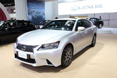 Lexus GS 250 car on display Stock Image