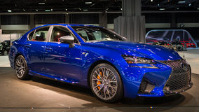2016 Lexus GS F Fotografia Stock