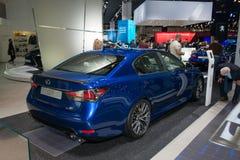 Lexus GS F - European premiere. Stock Images