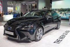 Lexus GS 450H - European premiere. Royalty Free Stock Photos