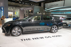 Lexus GS 450H - European premiere. Royalty Free Stock Photography