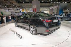Lexus GS 450H - European premiere. Stock Photos