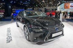 Lexus GS 450H - European premiere. Royalty Free Stock Images