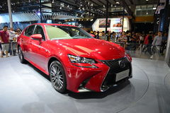 LEXUS GS saloon car Royalty Free Stock Images