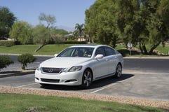 Lexus GS 450 2008 White Stock Image