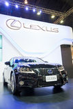 Lexus GS300h on display Stock Photography