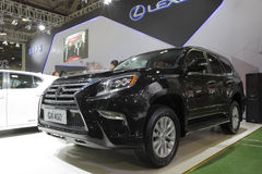 Lexus gx 400 car Royalty Free Stock Photography