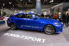 Lexus IS300h hybrid Stock Images