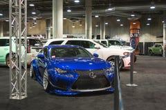 Lexus-het stemmen op vertoning Royalty-vrije Stock Foto
