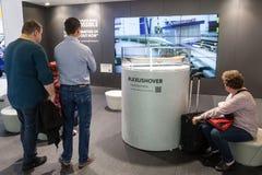 Lexus Hover Board am IAA 2015 Lizenzfreie Stockfotos