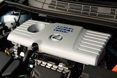 Lexus Hybrid logo Royalty Free Stock Photo