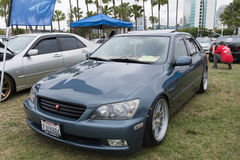 Lexus IST 2005 auf Anzeige Lizenzfreie Stockfotos