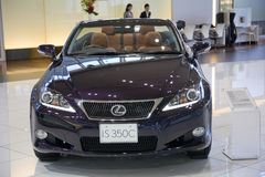 2017 Lexus IS 350. Japan Stock Photography