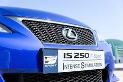 Lexus JEST 250 sportem Zdjęcie Stock