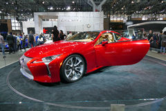Lexus LC 500 an der New- Yorkinternational-Automobilausstellung jpg Stockfoto