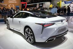 2018 Lexus LC500h Coupe car Royalty Free Stock Image