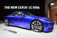 2018 Lexus LC 500h samochód Zdjęcia Stock