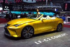Lexus LF-C2 car Stock Images
