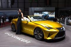 Lexus LF-C2 car Stock Image