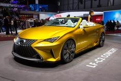 Lexus LF-C2 car Royalty Free Stock Images