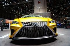 Lexus LF-C2 pojęcie, Motorowy przedstawienie Geneve 2015 Zdjęcia Stock