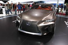 Lexus LF-CC Arkivfoto