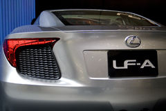 Lexus LF-A Concept Royalty Free Stock Images