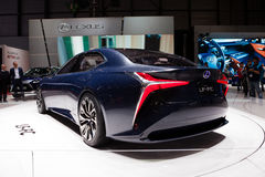 Lexus LF-FC Concept royalty free stock images