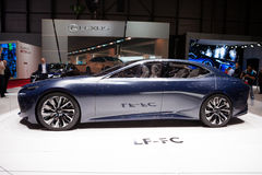 Lexus LF-FC Concept Royalty Free Stock Photo