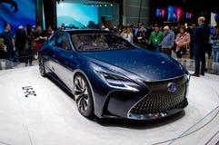 Lexus LF-FC Geneva 2016. Geneva, 86th Salon de l'Auto 2016 Royalty Free Stock Images