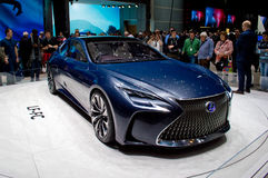 Lexus LF-FC Genewa 2016 Obrazy Royalty Free