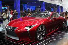 Lexus LF-LC. BEIJING-APRIL 30: Lexus LF-LC     is on display at the 2012 Beijing International Automotive Exhibition(Auto China 2012)  on April 30, 2012 in Stock Photo