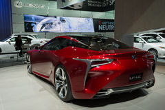 Lexus LF-LC display at the LA Auto Show. Stock Photography