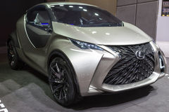 2015 Lexus LF-SA Concept. Geneva, Switzerland - March 4, 2015: 2015 Lexus LF-SA Concept presented on the 85th International Geneva Motor Show Royalty Free Stock Images