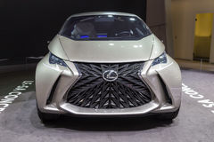 2015 Lexus LF-SA Concept. Geneva, Switzerland - March 4, 2015: 2015 Lexus LF-SA Concept presented on the 85th International Geneva Motor Show Stock Image