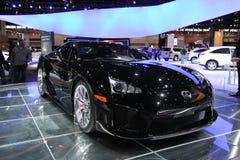Lexus LFA. Chicago auto show February 2011 Stock Photo