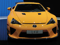 Lexus LFA Stock Photo