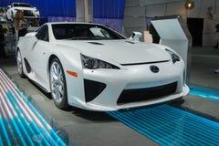 Lexus LFA  car on display at the LA Auto Show. Royalty Free Stock Photography