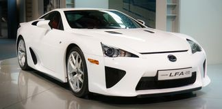 Lexus LFA concept car Royalty Free Stock Image