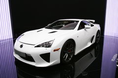 Lexus lfa sport Royalty Free Stock Images