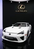 Lexus LFA Sports at Paris Motor Show Stock Photo