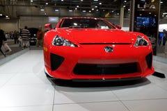Lexus LFA Sportscar Stock Afbeelding