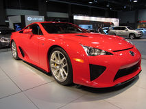 Lexus LFA Supercar Stock Photos