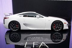 Lexus LFA V10 Royalty Free Stock Images
